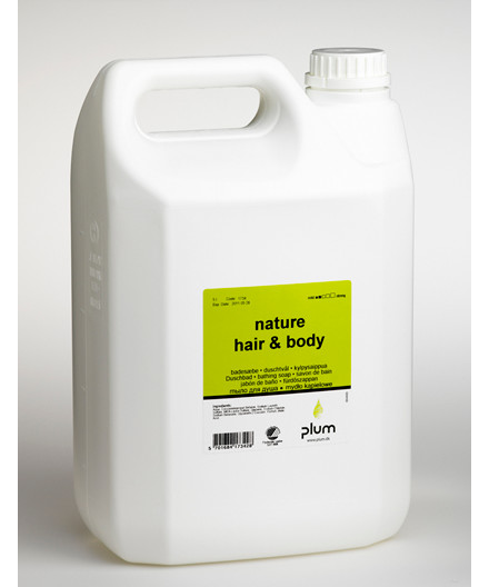 Plum Nature Hair & Body shampoo 5L