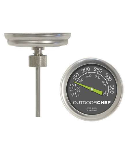 Outdoorchef termometer til grilllåg
