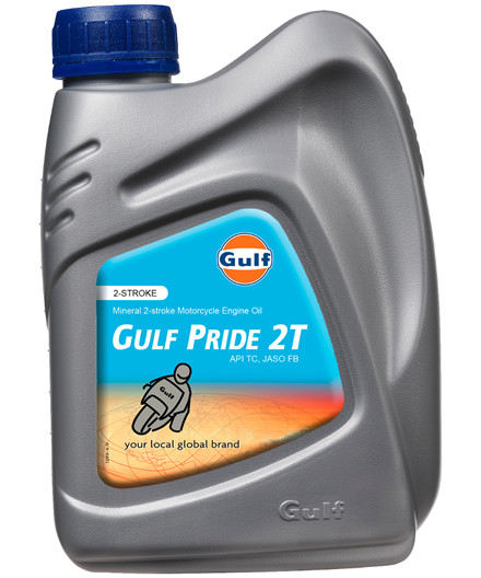 Gulf Pride 2T motorcykelolie 1L