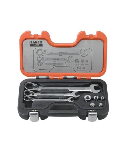 Bahco adaptersæt med ringskraldenøgler / gaffelnøgler
