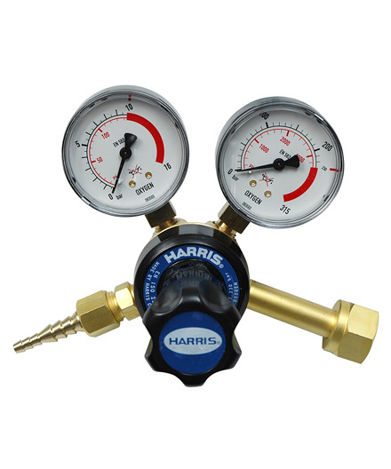 Harris 801 reduktionsventil - oxygen
