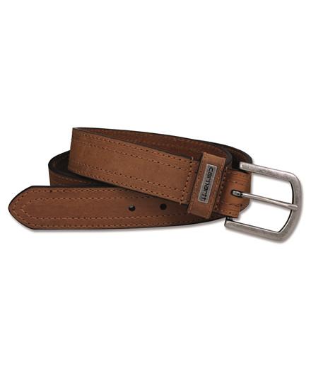 Carhartt double stiched læderbælte