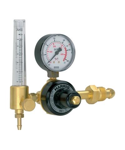 Harris 801-30 l/m reduktionsventil - argon med enkelt flowmeter