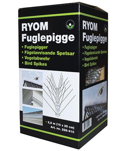 Ryom fuglepigge 2,5 meter