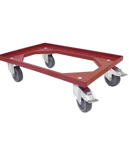 Transporttrolley rød