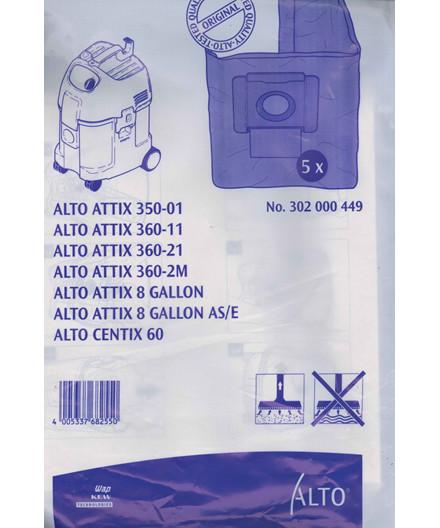 Nilfisk-Alto støvsugerposer papir 5 stk til Attix 3