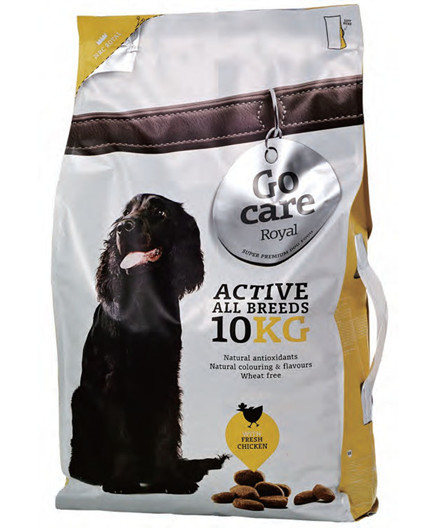 Go Care Royal Active All Breeds hundefoder 10 kg