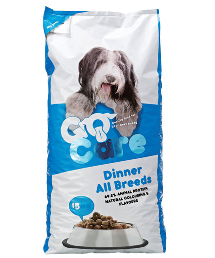 Go Care Dinner hundefoder 15 kg