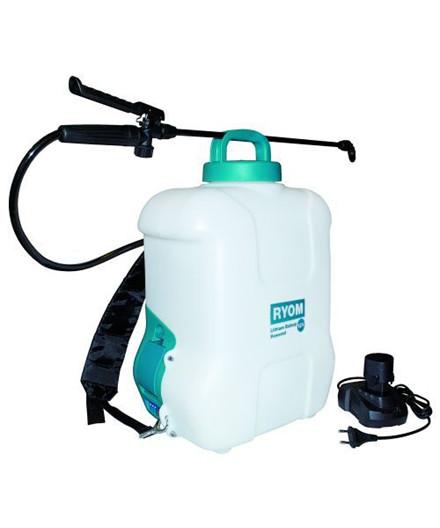 Ryom rygsprøjte m/ lithiumbatteri