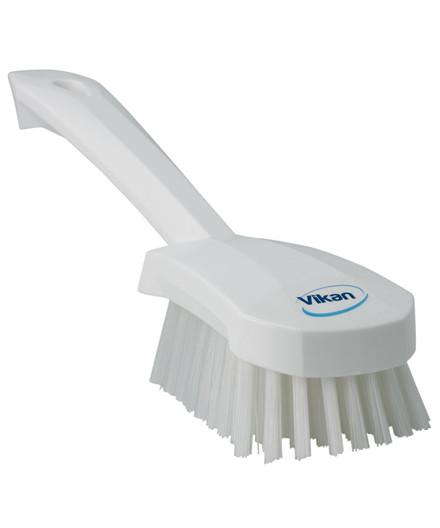 Vikan stiv vaskebørste med kort skaft