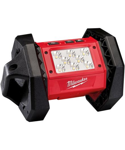 Milwaukee M18 AL-0 arbejdslampe - ekskl. batteri og lader