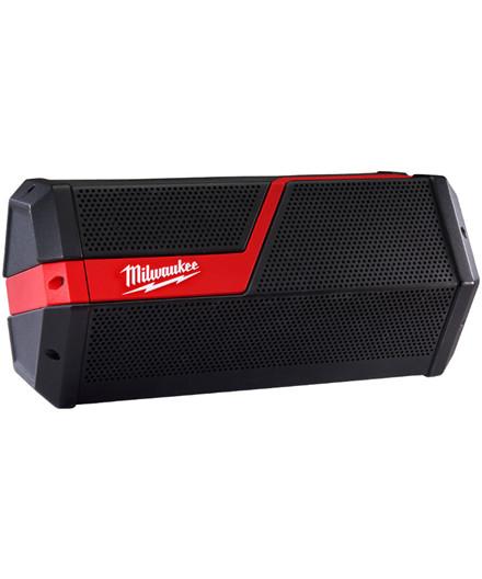 Milwaukee M12 - M18 JSSP-0 Bluetooth arbejdshøjttaler ekskl. batteri og lader