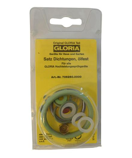 Gloria pakningssæt til højtrykssprøjter - olieresistent
