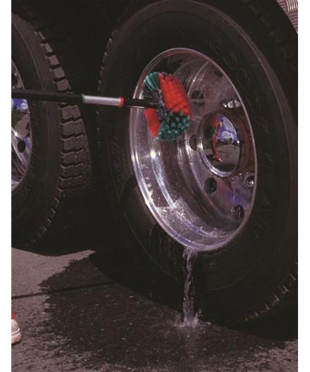 Vikan stor fælgbørste m/ vandgennemstrømning