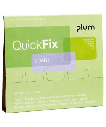 Plum Quickfix refill plastre til plasterdispenser - 45 stk
