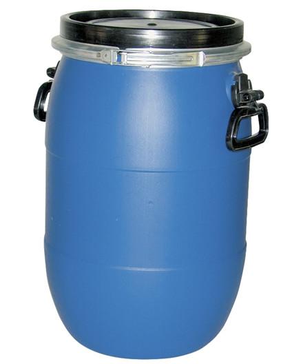 Fodertønde med låg 30 liter