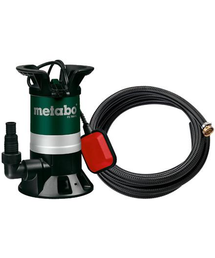 Metabo Spildevandspumpe PS 7500 S m/ 7 m slange