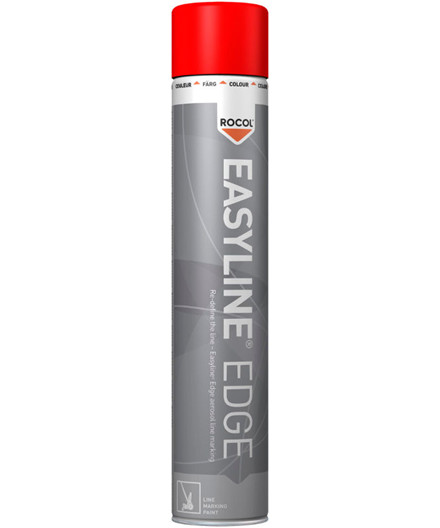 Rocol Easyline Edge rød opmærkningsfarve