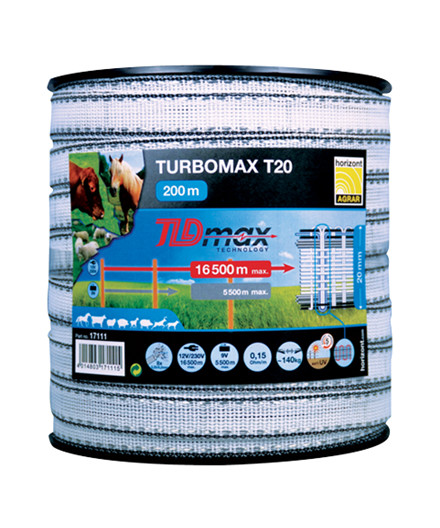 Turbomax T20 polytape 20 mm - 200 m