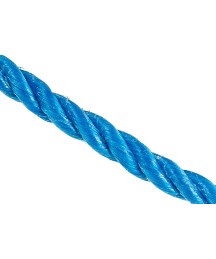 Polyreb blå Ø14 mm - 110 meter