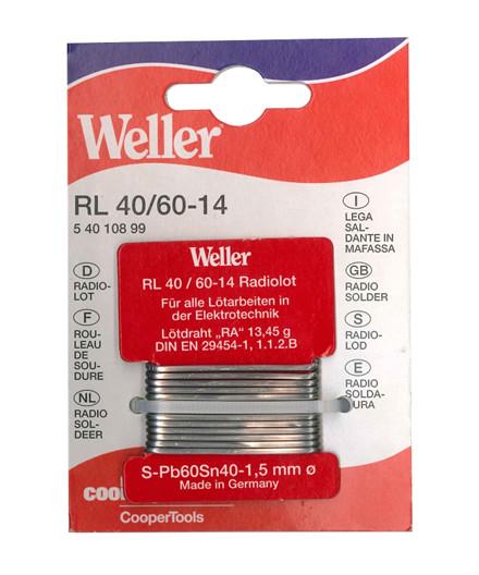 Weller RL 40/60-14 loddetin