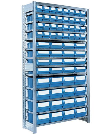 Bito SKR 2G lagerreol med kasser