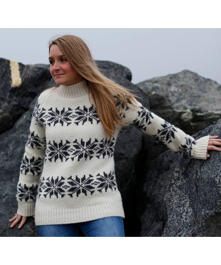 Norwool islænder sweater - dame