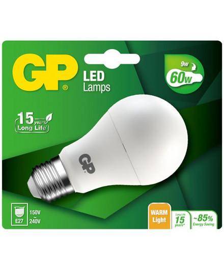 GP LED pære 9,4W E27