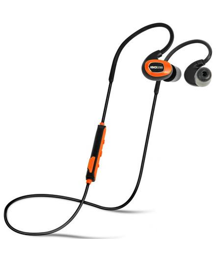ISOtunes PRO Orange høretelefoner EN352
