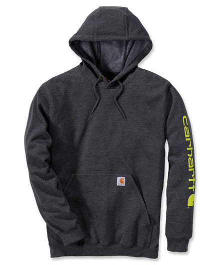 Carhartt Midweight Signature Sleeve Logo Hooded Sweatshirt