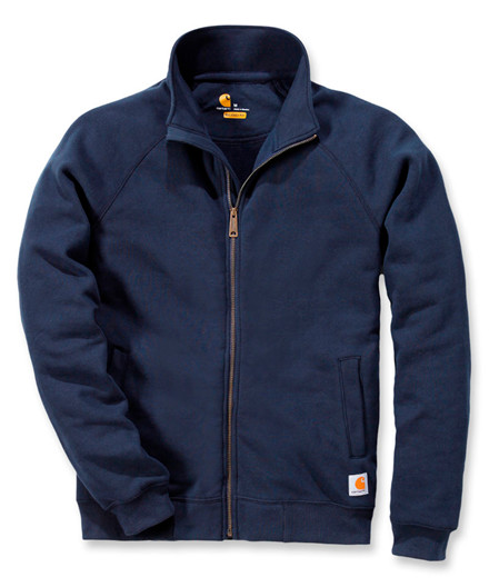 Carhartt Midnight Mock Neck Zip Front Sweatshirt