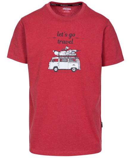 Trespass Motorway Men's Casual Printed T-Shirt