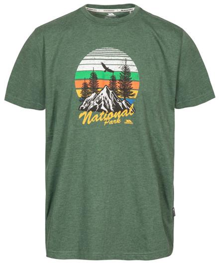 Trespass Estate Men's Casual Printed T-Shirt