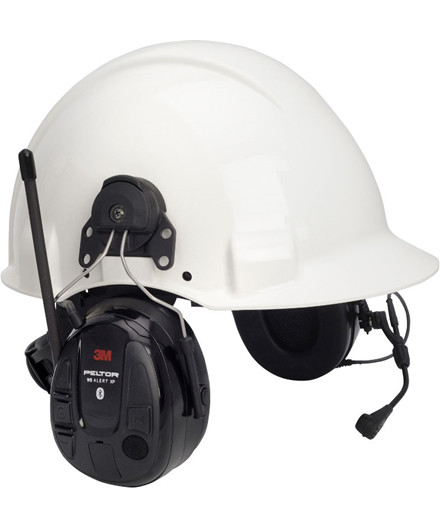 3M Peltor WS Alert XP hjelmmonteret høreværn m/ FM og Bluetooth