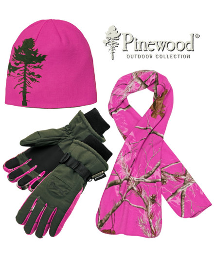 Pinewood Camou Hot Pink Gift Box