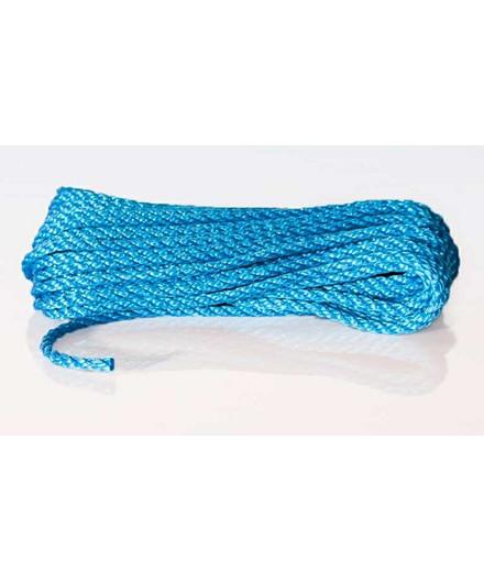 Polyreb blå Ø8 mm - 25 meter