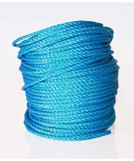 Polyreb blå Ø6 mm - 110 meter