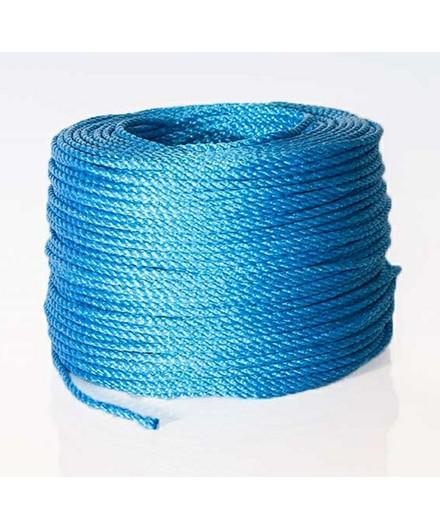 Polyreb blå Ø6 mm - 220 meter
