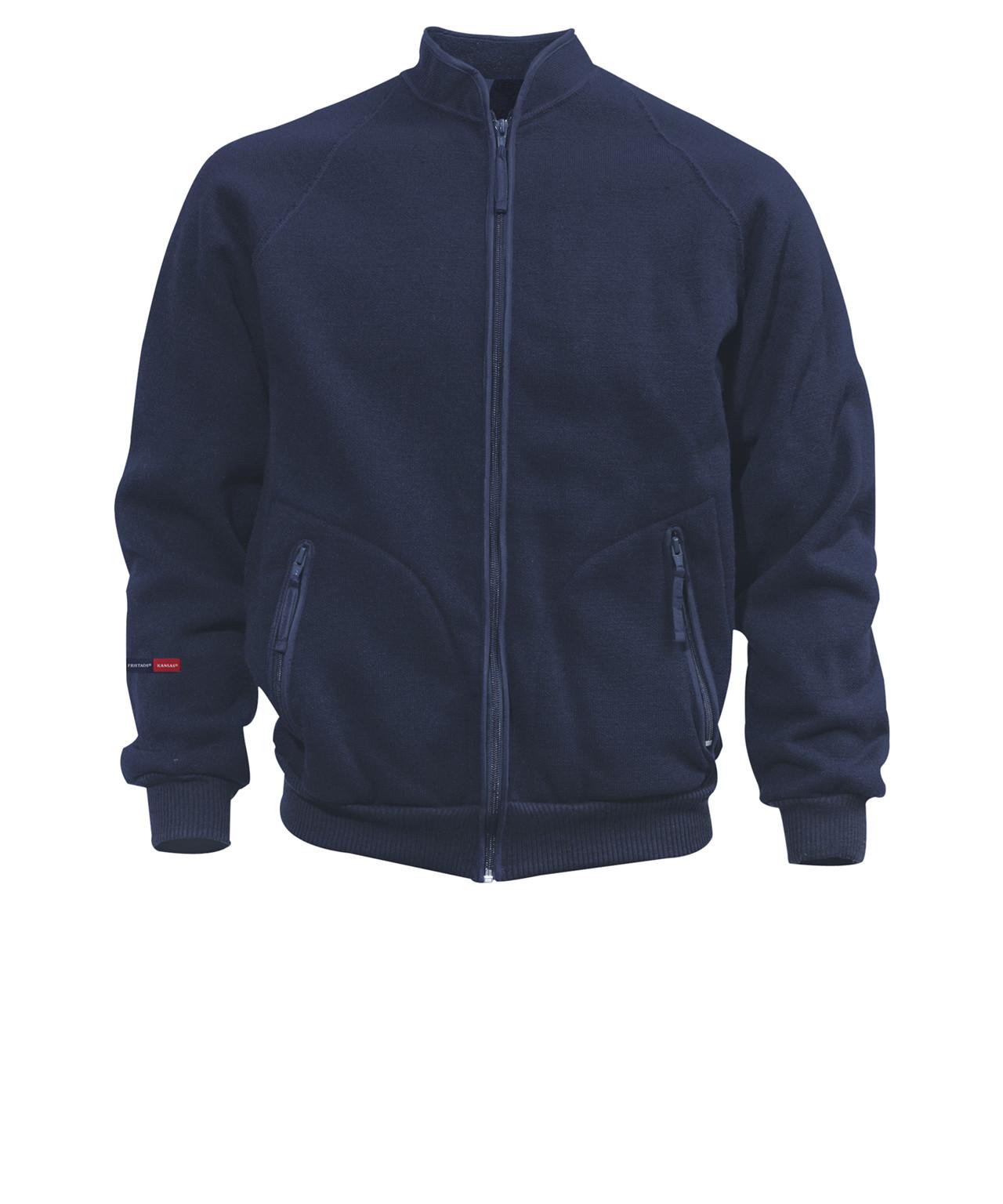 3132bc2cf02 Kansas Crafts jakke med fiberpels