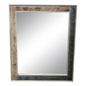 Spiegel SCARA aus Massivholz in creme