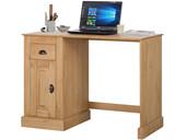 Schreibtisch TONI Kiefer massiv in gebeizt geölt