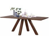 Tisch MONTE 160 cm aus Akazienholz in braun