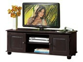 TV Lowboard MEGAN aus Kiefer in havana lackiert