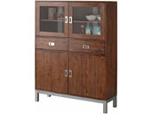 Highboard KELLY aus Akazienholz in braun
