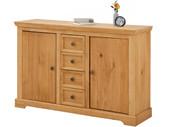 2-trg. Sideboard ANTON aus Kiefer in gebeizt geölt, 133 cm