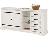 Sideboard LOVIS aus Kiefer Breite 170 cm in weiß