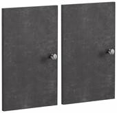 Tür-Set MARIO aus MDF in betonfarben matt für MARIO Regal
