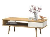 Couchtisch ANNE mit Schublade im Skandinavischen Design