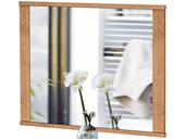 Spiegel SATO 80x65 cm aus Kiefer massiv, eichefarbe gekälkt