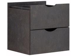 2 Schubladen KNOX aus Holzwerkstoff in beton